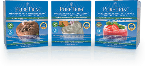 mediterranean wellness shakes
